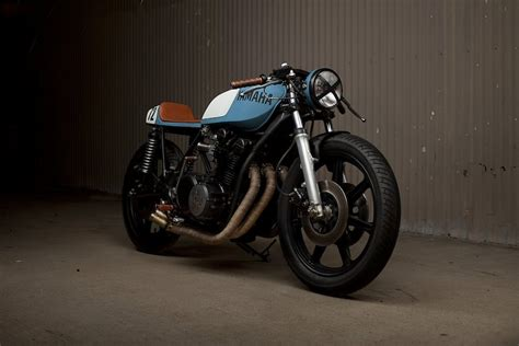 motogrotto vintage custom cafe racer bike build for bmw the beautiful yamaha xs750 cafe racer by motorbikes
