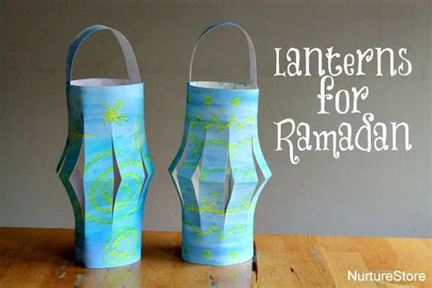Paper Lantern Craft Ideas - paper lanterns ramadan craft nurturestore