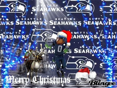 seahawk christmas picture  blingeecom