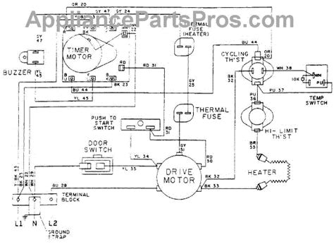 maytag dryer motor wiring diagram maytag a wiring