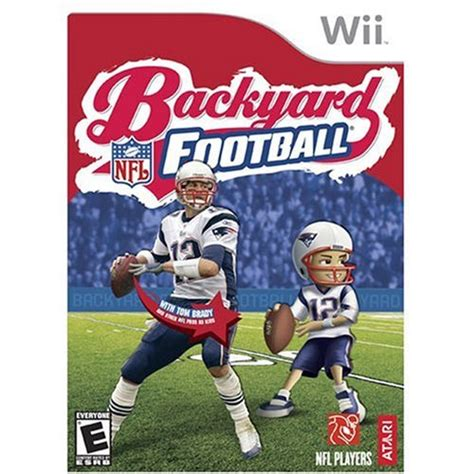 wii backyard football backyard football nintendo wii apparel accessories