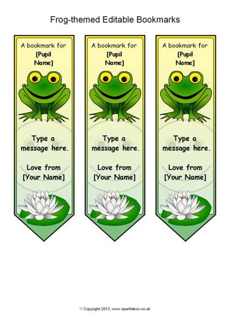 frog bookmarks printable printable  degree