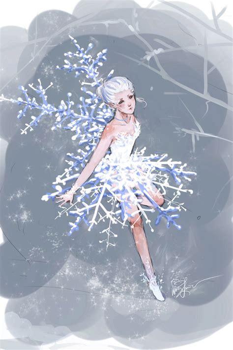 fairytale snow snow fairy by dreamerwhit on deviantart