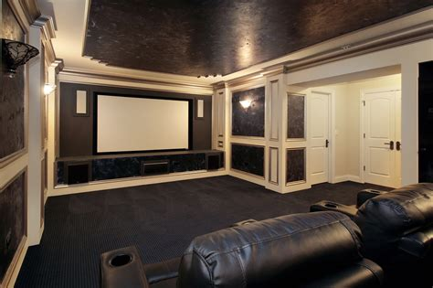 Small White Home Theatre 37 Mind Blowing Home Theater Design Ideas Pictures