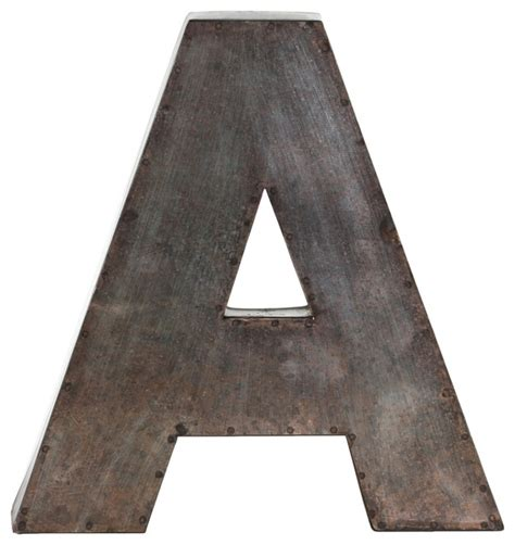 wall letters for bedrooms metal alphabet wall decor letter quot a quot wall letters by urban trends collection