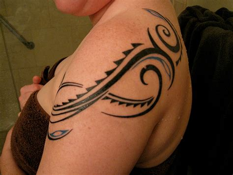 tr st tattoos designs for girl 91 abstract shoulder tattoos for
