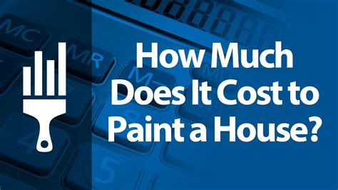 how much is a can of paint how much does it cost to paint a house painting