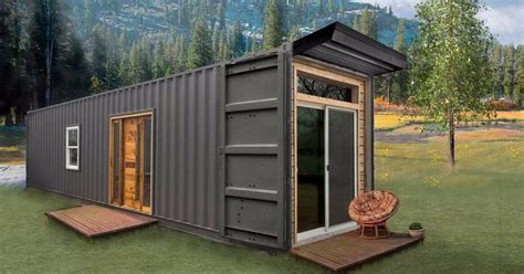 Tiny Cabins by Exquisite Open Plan Kitchen Of Container Home 2
