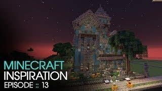 minecraft modern manor inspiration w keralis youtube thumbnail