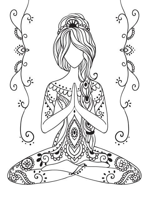 yoga coloring pages for adults terapia da cor n 186 3 las mandalas mandalas y crear