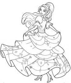 Dibujos Para Colorear De La Pel 237 Cula Barbie Y Las 12