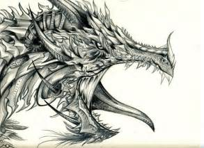 Home Fall Decorating Ideas 10 cool dragon drawings for inspiration hative