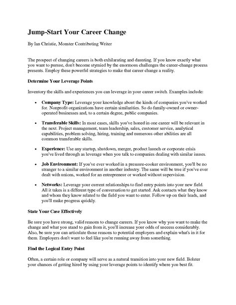 resume cover letter career change pilot cover letters cover letter exle