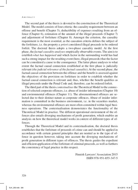doctoral thesis abstract sle abstract doctoral thesis