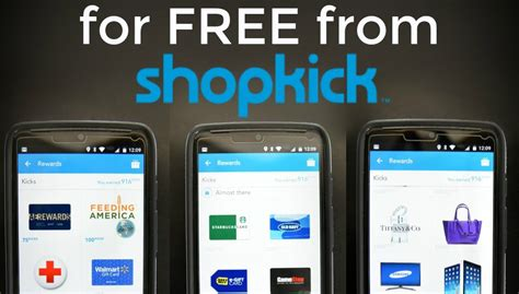 Shopkick Gift Card Values - learn how the shopkick app will change the way you shop