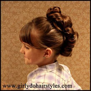 bun hairstyles gone wrong messy bun faux hawk from girly do hairstyles messy buns