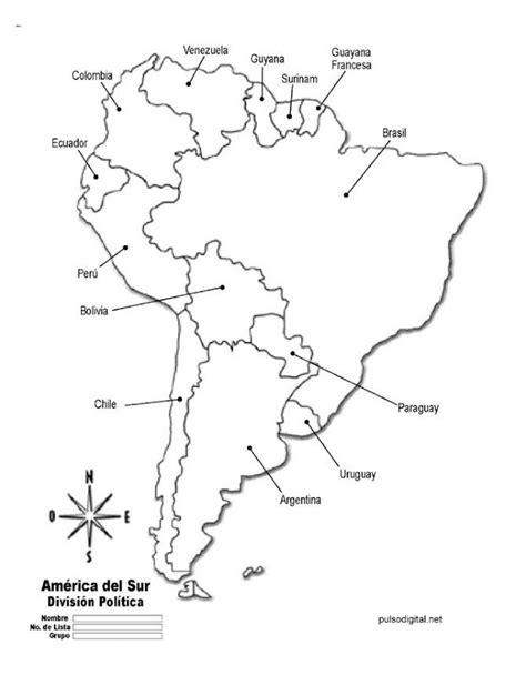 mapa america con division politica mapa de america con division politica nombres