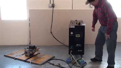 hho gas  ep  engine carbon cleaning machine running   honda engine youtube