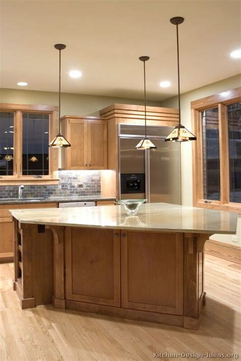 mission style kitchen island craftsman kitchen design ideas and photo gallery