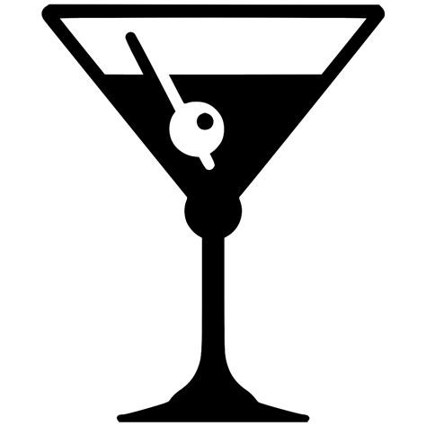 martini svg cocktail svg png icon free 549556