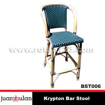 Kursi Bar Rotan harga jual krypton bar stool kursi bar rotan alami model gambar