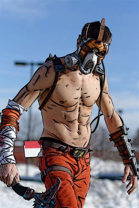 The Psycho From Heroes by Character Krieg The Psycho From 2k Gearbox
