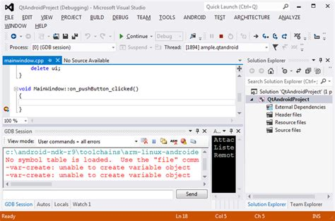 tutorial visual studio android app developing qt projects for android with visualgdb