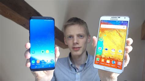 samsung galaxy s8 vs samsung galaxy note 3 which is faster