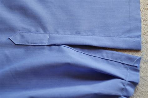 pattern shirt sleeve placket how to sew a shirt sleeve placket and cuff pauline alice