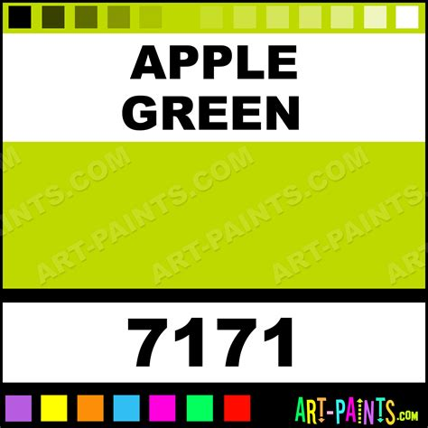 apple green fabricmate superfine paintmarker marking pen paints 7171 apple green paint
