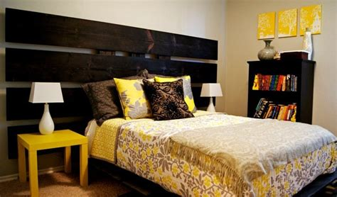 Grey And Yellow Modern Bedroom Yellow And Gray Bedroom Modern Bedroom Oklahoma City