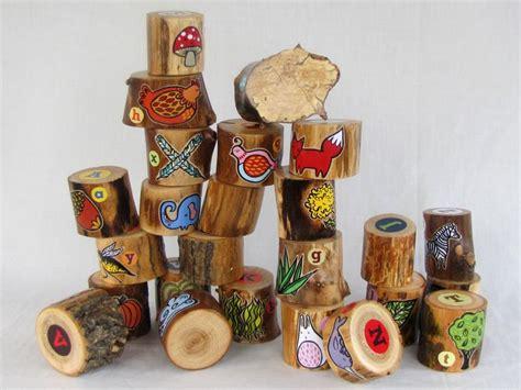 Handmade Alphabet Blocks - 1000 ideas about alphabet blocks on toys