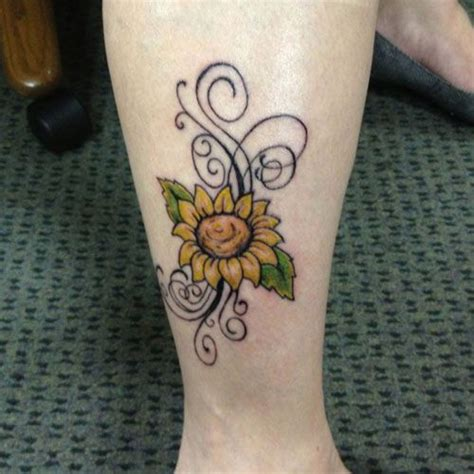 sunflower tattoo on wrist 35 best images about sunflower tat on