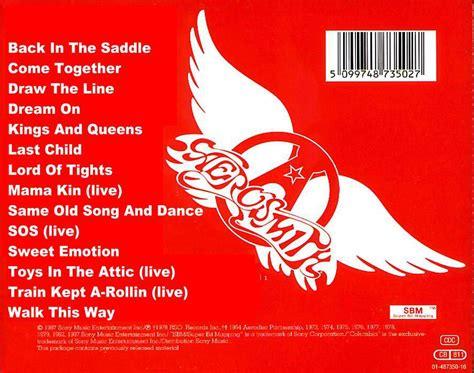 best aerosmith album aerosmith greatest hits cd cover images