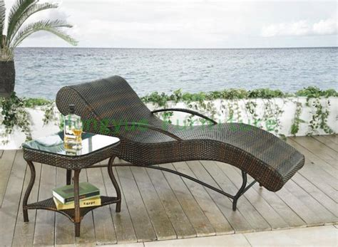 Sun Patio Furniture Buy Patio Rattan Curved Sun Loungers Set Patio Furniture At Aliexpress Goods Catalog