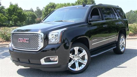 gmc yukon 2015 gmc yukon denali start up test drive and in depth