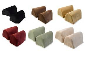 Chair arm cover protectors