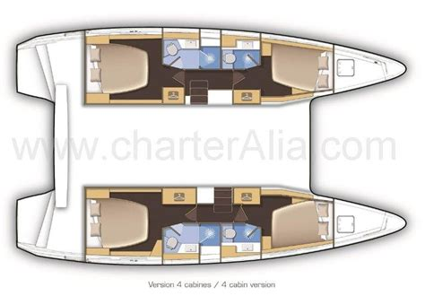 catamaran floor plan new lagoon 42 catamaran with air conditioning yacht
