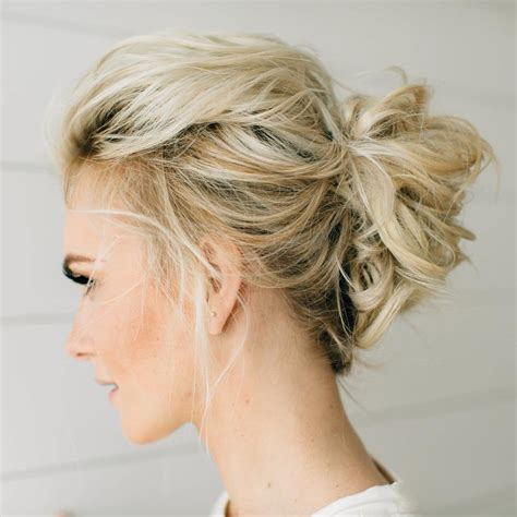 shag updo 70 darn cool medium length hairstyles for thin hair