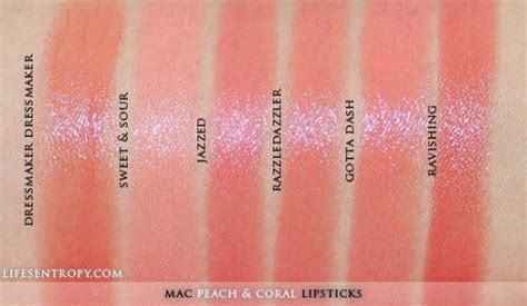 Blush Emin By Baby Kosmetik by Mac Coral Lipstick Collection Swatches