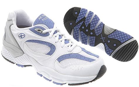 best orthopedic running shoes aetrex x521 lenex running shoe white periwinkle s