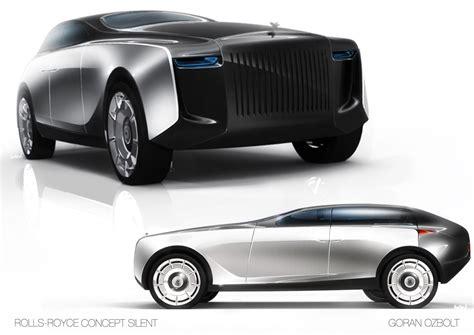 future rolls royce phantom rolls royce concept silent by goran ozbolt car body design