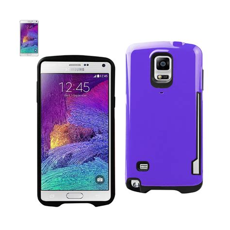Hardcase 2 Layer Premium Dotted Metalic Samsung Note 4 saapni reiko samsung galaxy note 4 shield with card holder in purple tpupc08