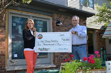 Home Makeover Sweepstakes 2014 - home makeover winners c l ward