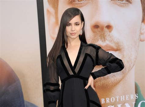 sofia carson attends chasing happiness premiere