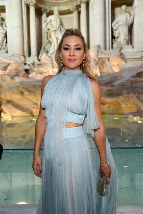 Kate Hudson's blue pleats Lainey Gossip LifestyleKate