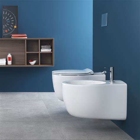 Le Bidet by Hatria Le Fiabe Wall Hung Wc And Bidet Wall Hung Rimless