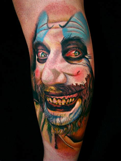 captain spaulding tattoo captain spaulding picture