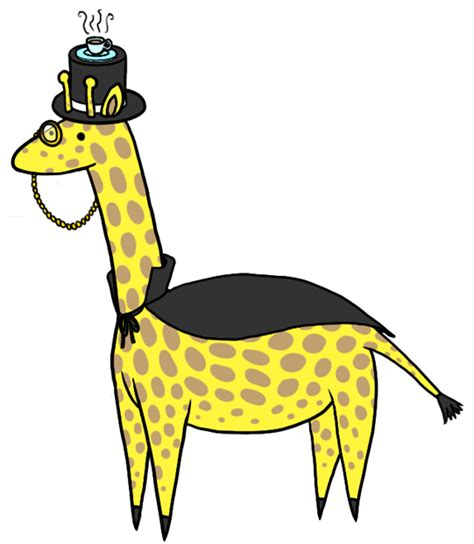 Giraffe Hat Meme - dapper giraffe by capersaurus on deviantart