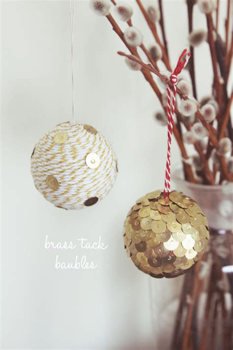 diy decorations baubles diy ways to celebrate